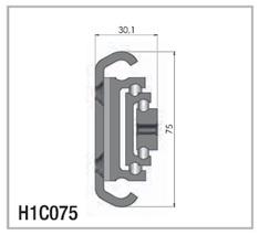 H1C Hegra 150 over extension rail_cut