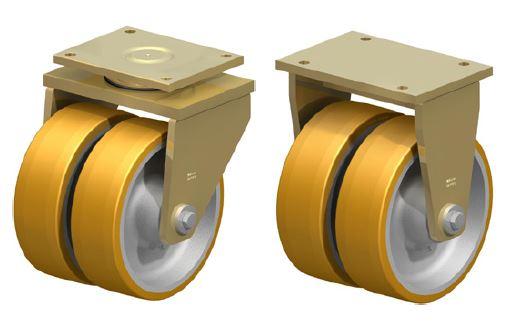 Extrathane PU Twin Wheel Image